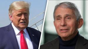 President Trump Calls Dr. Fauci and Disease Experts 'Idiots' on Campaign Call